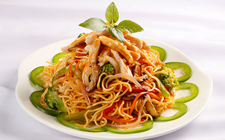 Mỳ trộn sa tế Malaysia