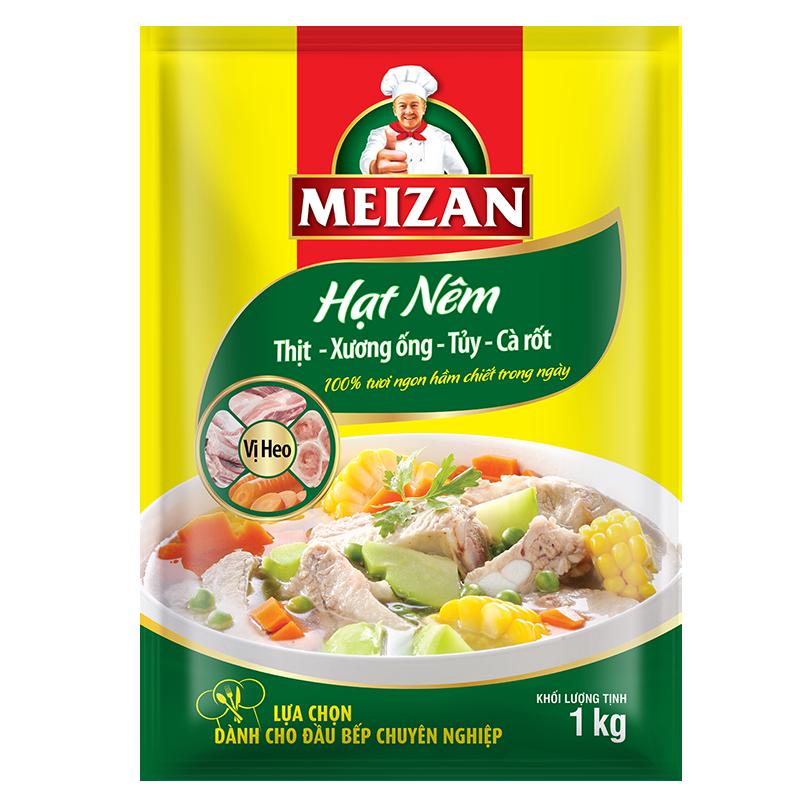 Meizan Bouillon Granules – Pork Flavor